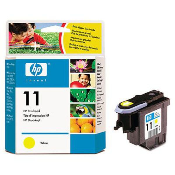 HP Druckkopf Nr. 11 C4813A Gelb (ca. 1750 Seiten)