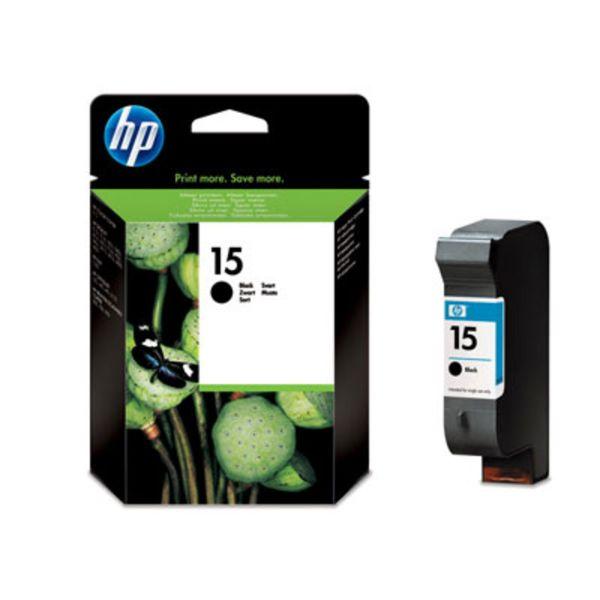 HP Tintenpatrone Nr. 15 C6615DE Schwarz (ca. 500 Seiten)