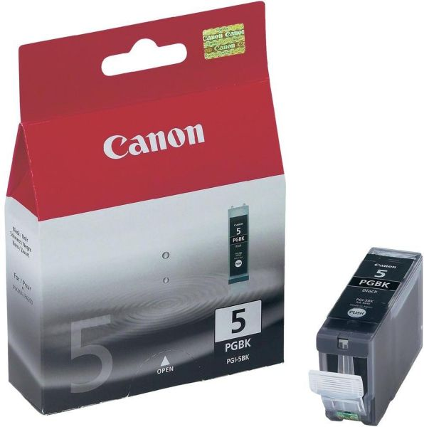Canon Tintenpatrone PGI-5BK schwarz (ca. 360 Seiten)